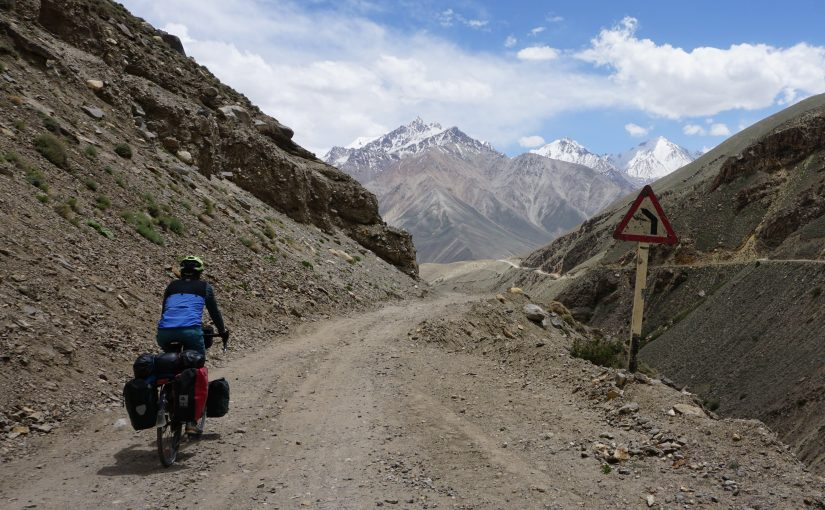 Into the Pamir mountains